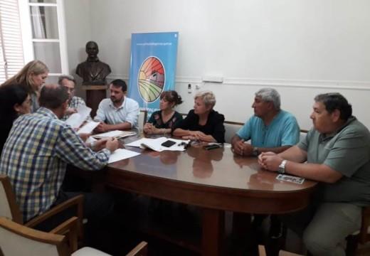 Clerici continúa gestionando mejoras para el dispensario del barrio Fonavi