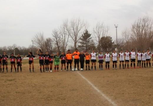 Clerici presente en la final de fútbol femenino.