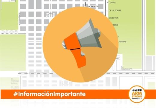 Armstrong. Información de la Dirección de Promoción Comunitaria
