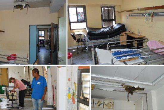 """Parola: """"El Hospital de Niños está en una situación caótica""""."""