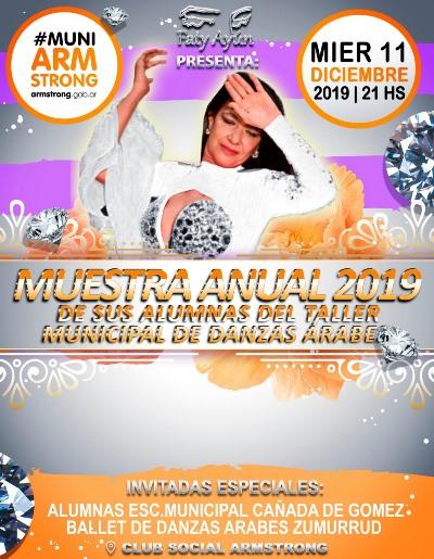 Muestra anual de danzas árabes 2019