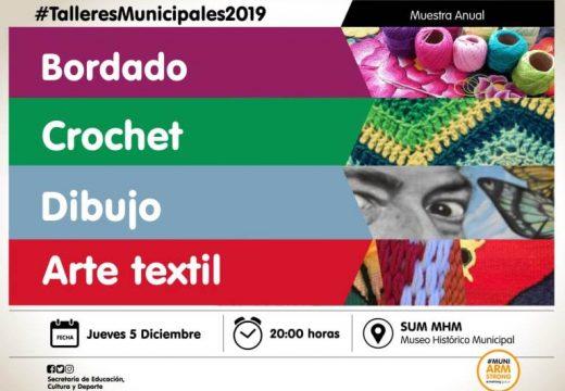 Muestra anual de talleres municipales 2019