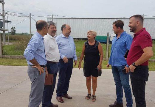 Cañada de Gomez. Gestiones de Clerici para fortalecer la industria local.