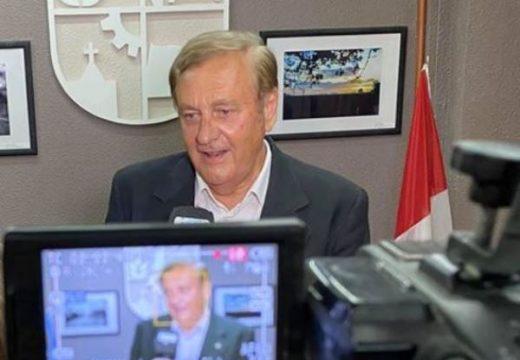 Augusto Fischer hizo referencia a la minuta de comunicación presentada por el bloque oficialista.