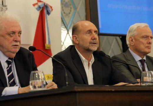 El gobernador Omar Perotti firmó el decreto por el cual Santa Fe adopta las medidas aconsejadas por el Ministerio de Salud de la Nación.