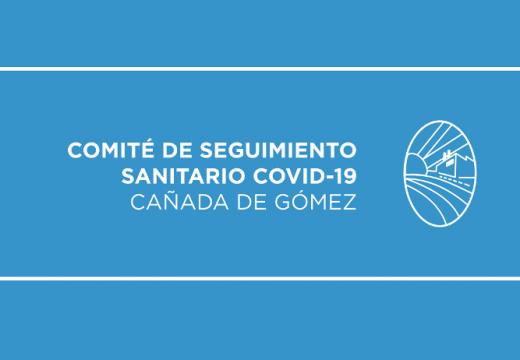 Primer caso de Coronavirus en Cañada de Gomez.