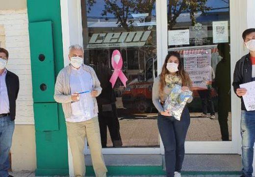 Cañada de Gómez. Municipio, Fudeca y Productores locales donan mascaras faciales a CEMI.
