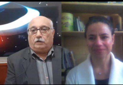 Deliberando: Los invitados, Ingeniera Marianella De Emilio y Concejal Guillermo Marconi.