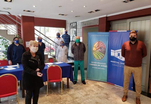 Cañada de Gomez. Hospital, Municipio y Cudaio realizaron jornada de colecta de sangre.