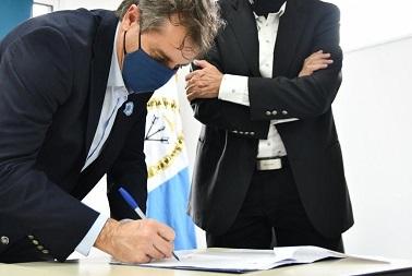 Se firmarán 24 convenios entre los Municipios y Comunas de Iriondo y el Ministerio de Desarrollo Social de la Provincia.