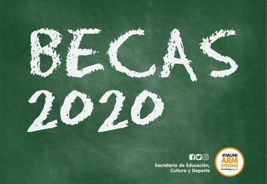 Armstrong. Becas educativas Septiembre 2020.