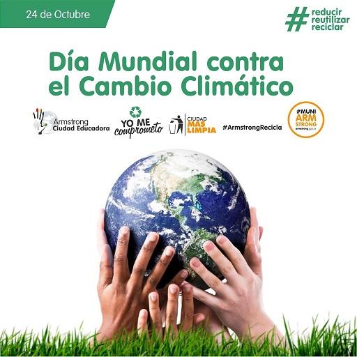 24 de Octubre – Día Internacional Contra el Cambio Climático.