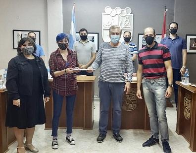 """El Concejo declaró de interés municipal el proyecto """"Huellas de una pandemia"""" realizado por la E.E.M.P.A."""