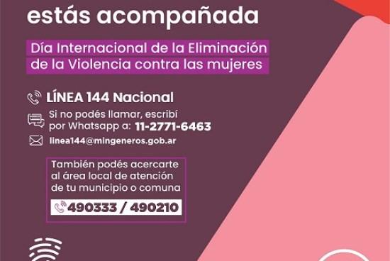 25N – Día Internacional de la Eliminación de la Violencia contra las mujeres.