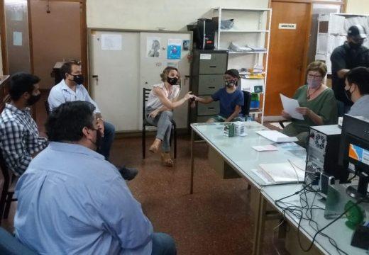 Se firmó convenio con el Programa Sumar en el SAMCo Las Rosas.