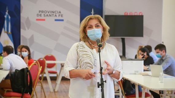 Matorano destacó el inicio de la vacunación contra el covid-19.