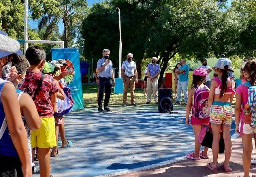 Cañada de Gómez. 300 chicos disfrutan de las colonias del parque y el poli.
