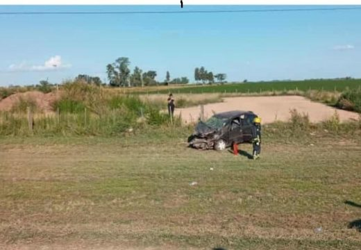 Accidente fatal en Ruta 178 frente a campo Paolucci.