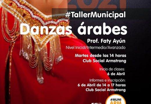Comienza el  taller municipal de danzas árabes.