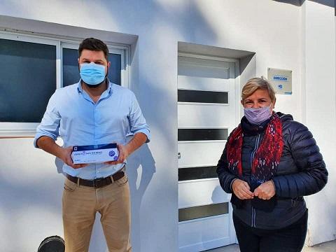 Cañada de Gómez. El municipio entregó tests rápidos a efectores de salud y a la Policía.