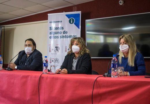 Covid 19: conferencia de médicos Directores de SAMCo del departamento Belgrano.