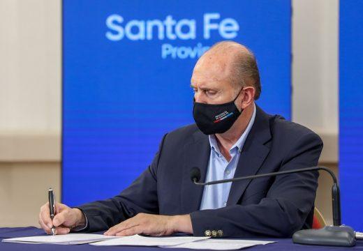 La provincia de Santa Fe adhiere al Decreto de Necesidad y Urgencia (DNU) N° 287/21 del Poder Ejecutivo Nacional.