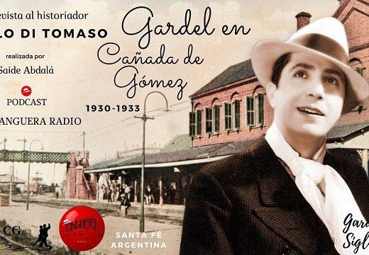 Entrevista a Pablo Di Tomaso en un Homenaje a Carlos Gardel.