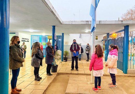 Cañada de Gómez. Aportes de municipio y provincia para obras en escuela Lisandro de la Torre.