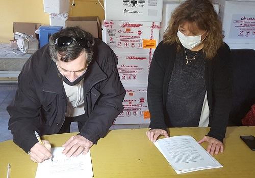 """Renovación del contrato de comodato para la utilización del Hogar de Ancianos """"Valentín Ronchese""""."""