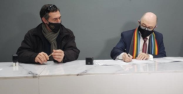 Armstrong. UTN y Municipio formalizaron el convenio correspondiente a la Diplomatura en Programación.