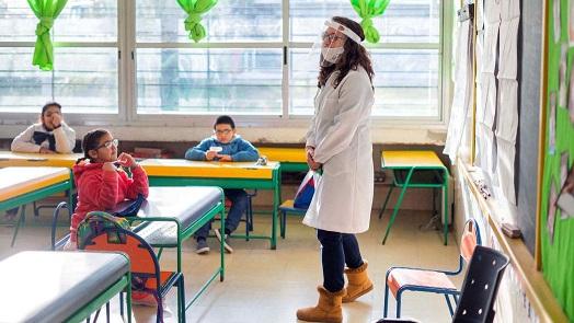 Este lunes vuelven las clases presenciales en todos los niveles en la provincia de Santa Fe.