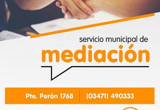 Armstrong. Mediación comunitaria, nuevo servicio municipal.