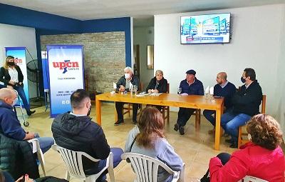 Cañada de Gómez. Clérici junto a UPCN concreta nuevas soluciones habitacionales.