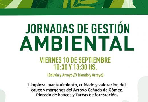 Cañada de Gómez. Municipio realiza jornadas de gestión ambiental.