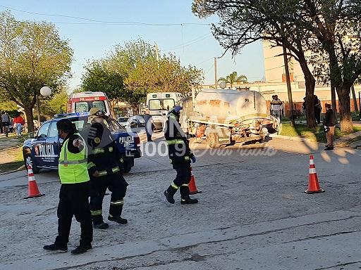 Tragedia en Las Parejas: una nena de 12 años murió en un accidente.