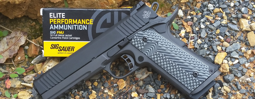 ArmsVault Network - Rock Island Armory 1911 with Sig Ammo