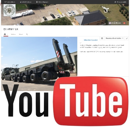 M1000 (HETS), 40-wheels Semi-trailer heavy equipment transporter