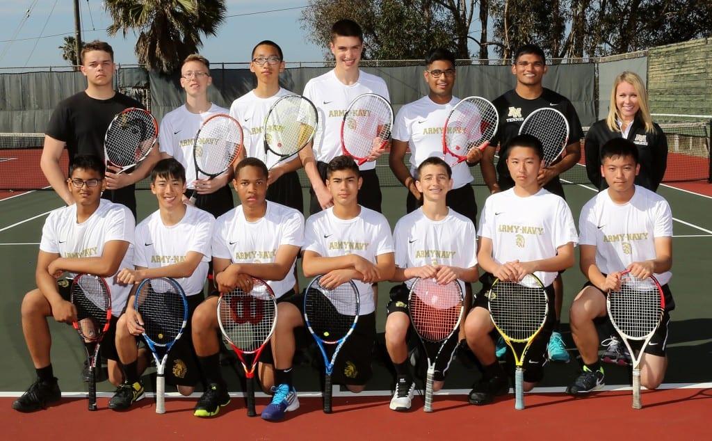 2016 tennis team