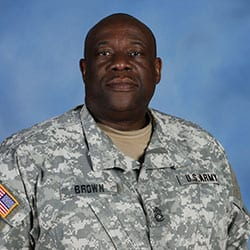 SFC Gregory Brown