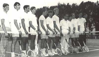 1972 Tennis Team