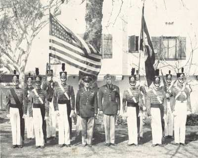Battalion Staff 1956
