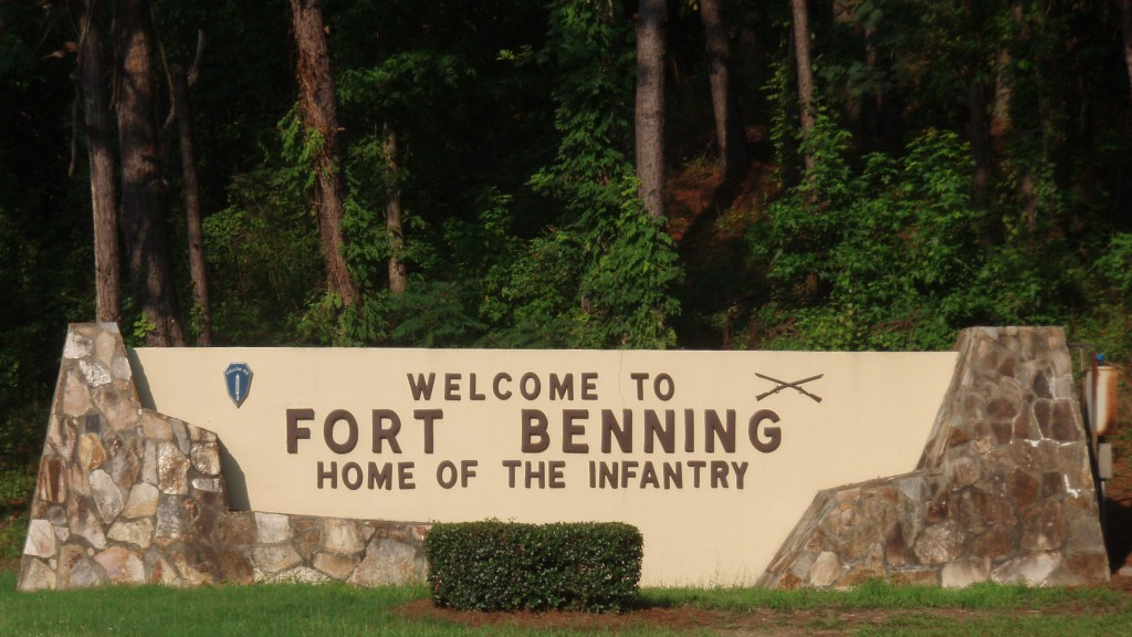 Fort Benning Ga Georgia U S Army Bases History Locations