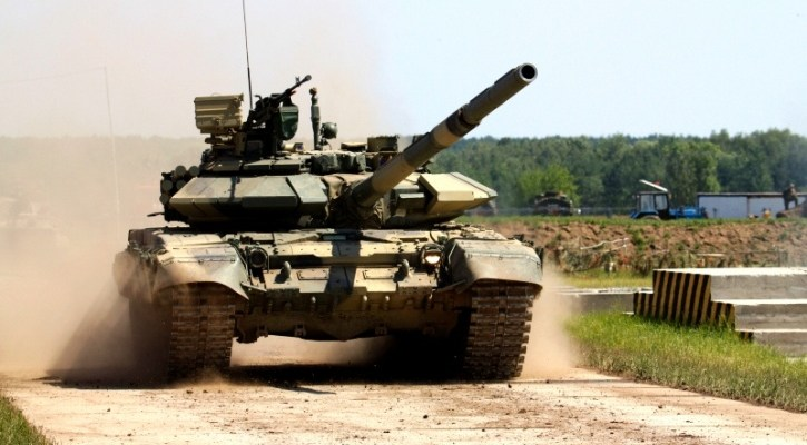 Indian Army Gifts T-55 Tank to Department of Defence and