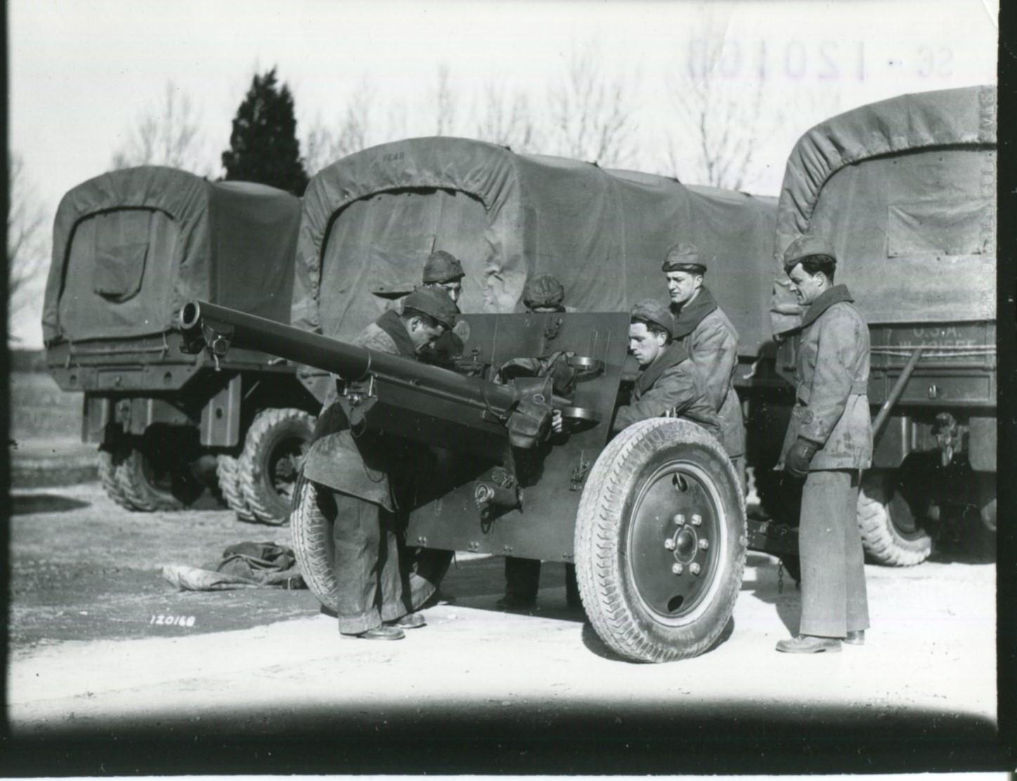 U S And German Field Artillery In World War Ii A