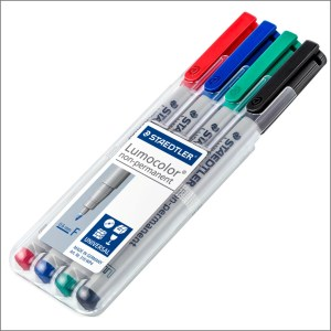 Staedtler Lumocolor Universal Permanent Pen Set – Super Fine