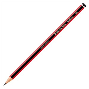 Staedtler Traditional Graphite HB Pencil – Black