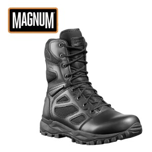 Magnum Elite Spider X 8.0 Sidezip Men's & Women's Uniform Boot – Black