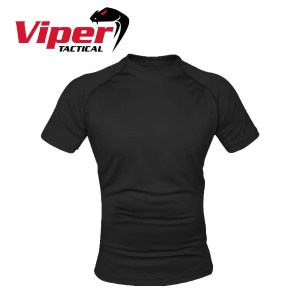 Viper Mesh-tech T-Shirt – Black