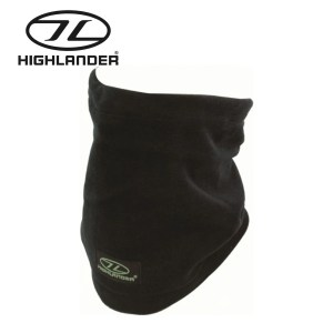 Highlander Polar Fleece Neck Warmer – Black