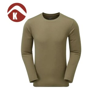 Keela ADS 100 L/S Top – Covert Green